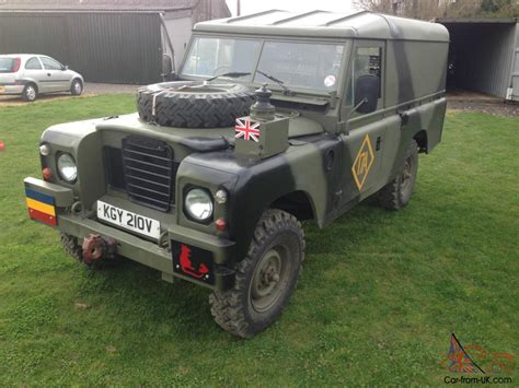 land rover series iii 88 ex military ex military for sale land rover series 3 ffr 109 quot ex military