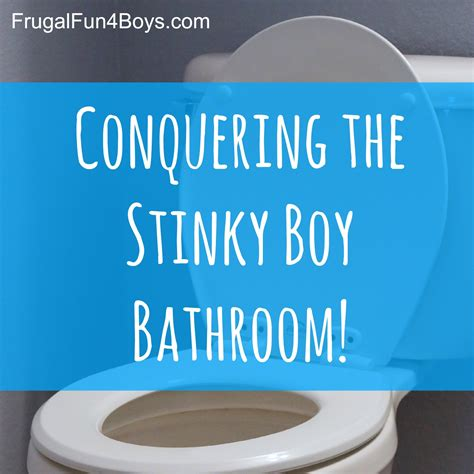 pee smell in bathroom getting rid of boy bathroom stink frugal fun for boys