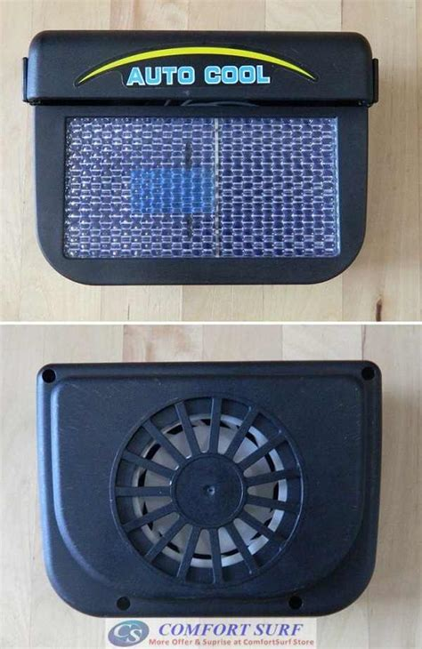 Car Cooler Fan Ventilation Solar Powered Rudianto auto cooler solar powered fan ventilation car cool