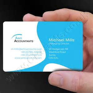 business cards exles colour plastic business cards
