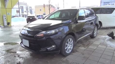 toyota lexus 2014 walkaround 2014 toyota harrier hybrid is a disguised