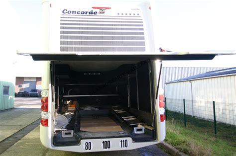 cing car poids lourd avec garage voiture occasion cing car concorde liner 1060 gmax