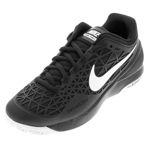 nike mens zoom cage 2 tns shoes bk wht