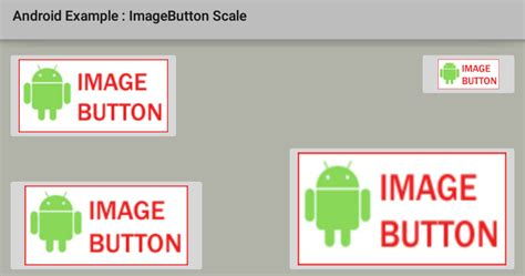 imagebutton android how to resize scale an imagebutton in android
