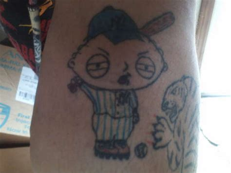stewie tattoo designs stewie griffin yankee flickr photo