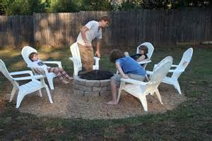 how to build a backyard fire pit cheap hometalk make an inexpensive backyard fire pit
