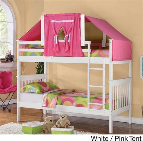 bunk bed kits mission size bunk bed and tent kit contemporary