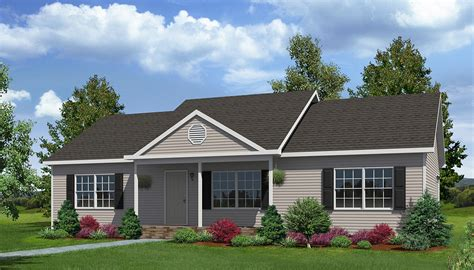 Large Ranch Style House Plans by Briar Ridge Ranch Style Modular Homes