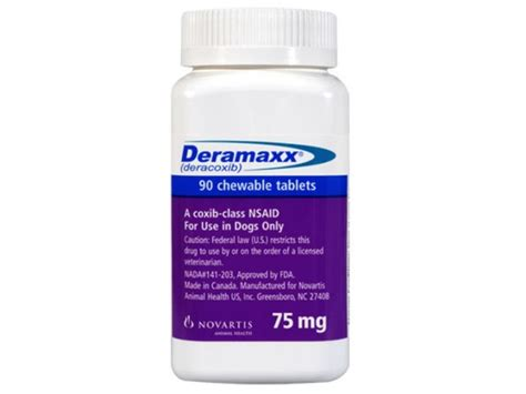 deramaxx for dogs side effects deramaxx 75mg
