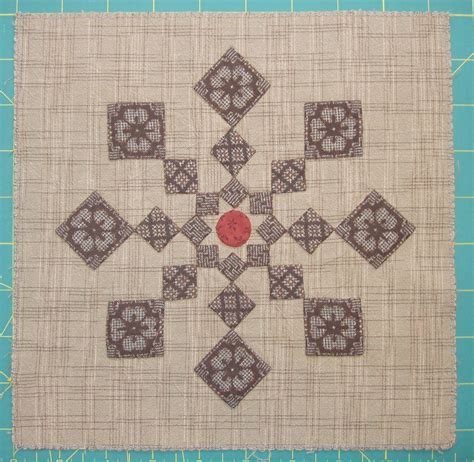 Japanese Taupe Quilt Patterns by Sashiko And Other Stitching Around With Japanese Taupe Quilt Blocks