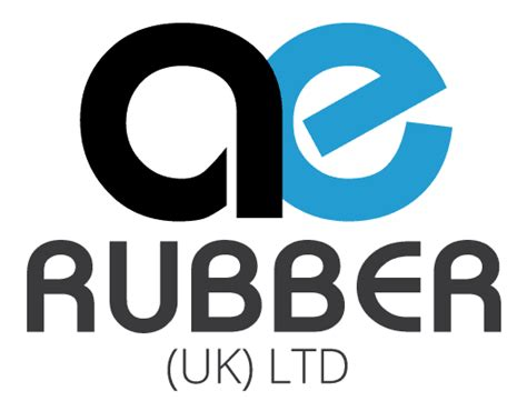 company logo rubber st bespoke rubber and plastic products ae rubber uk ltd
