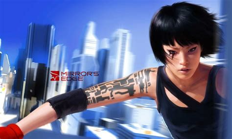 mirrors edge tattoo re rendered faith connors mirror s edge