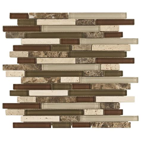 kitchen backsplash bliss cabernet glass stone linear