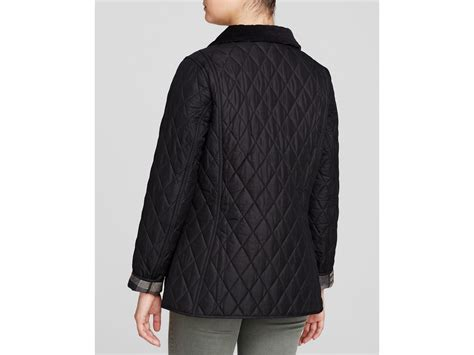 Barbour Black Quilted Jacket by Barbour Montrose Quilted Jacket In Black Lyst