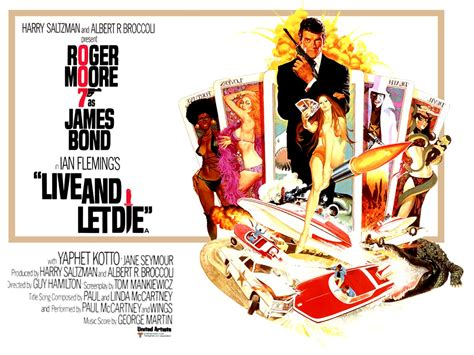 film james bond live and let die roger moore profiles in celluloid a film blog
