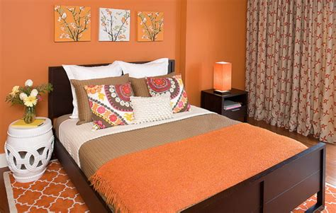 peach colored bedrooms gentle peach color in the interior ideas for home garden