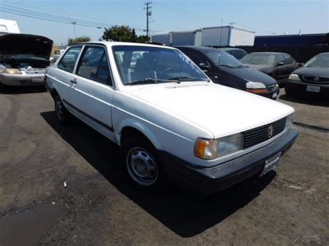 1991 volkswagen fox 1991 volkswagen fox1 8l i4 8v manual coupe no reserve