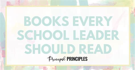 the 3 no s every successful should books the best books every school leader should read principal