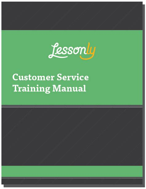 customer service manual template free customer service manual template custserv