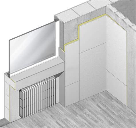 isolamento dall interno isolamento termico interno con basso spessore aerorock