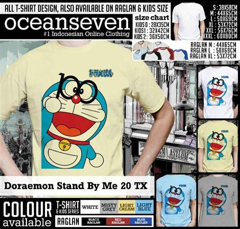 Hoodie Doraemon Dewasa doraemon stand by me t shirts limited edition kaos