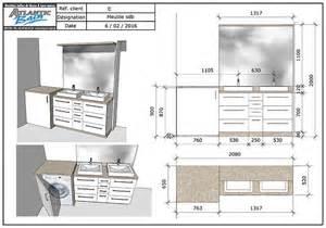 Superbe Plinthe Salle De Bain #3: meuble-avec-lave-linge-dans-salle-de-bain.jpg