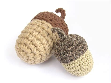 knit and crochet for fall acorns and squirrels free 1000 images about christmas crochet on pinterest free