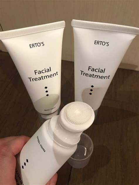 review ertos facial treatment bpom harga manfaat