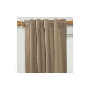 jcpenney drapes thermal jc penney wendy back tab cotton thermal