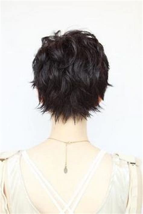 short shag hairstyles back view back of head short shag haircuts newhairstylesformen2014 com