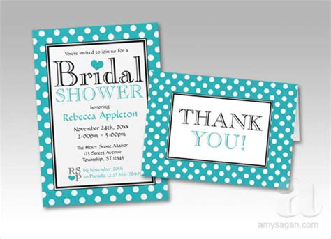 Thank You Card For Bridal Shower Gift - gift card templates free premium templates