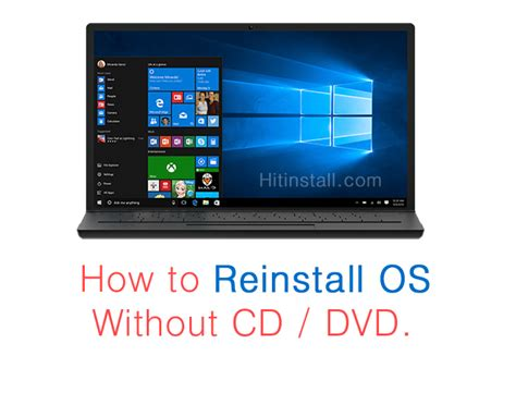 format laptop without cd drive how to reformat windows 10 7 8 os without windows cd dvd