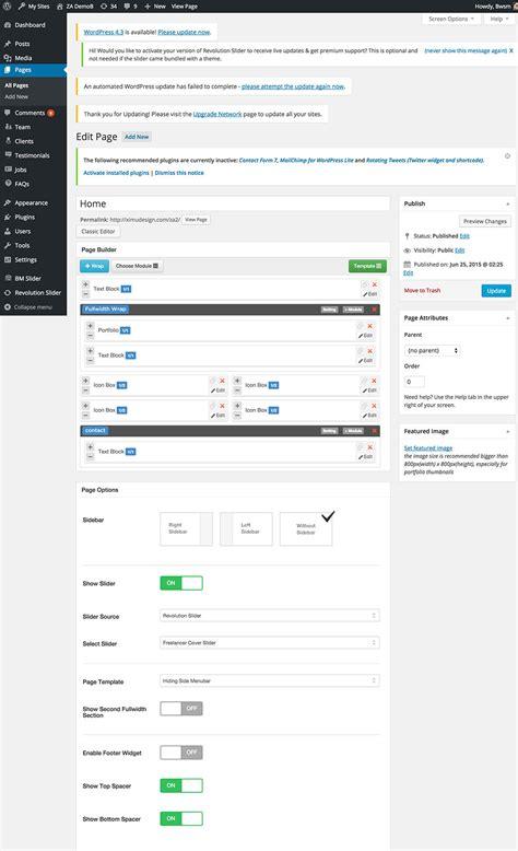 themes za google za creative fashion portfolio wordpress theme by bwsm