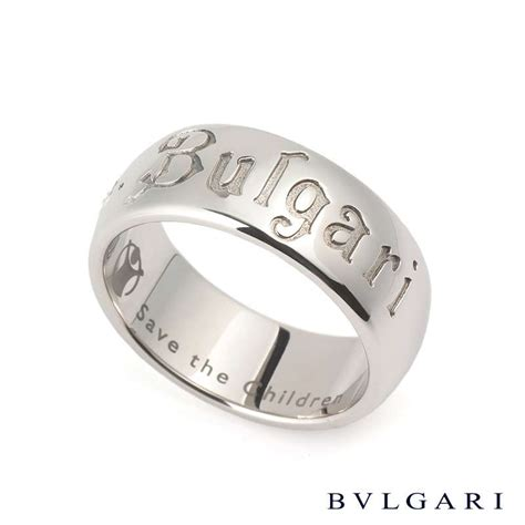 Bvlgary Silver bvlgari silver save the children ring rich diamonds of