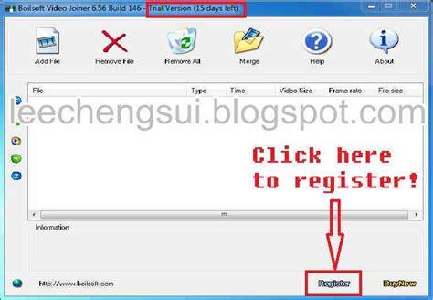 free download ultra video joiner full version 2011 kapuyuak download boilsoft video joiner v6 56 146 serial