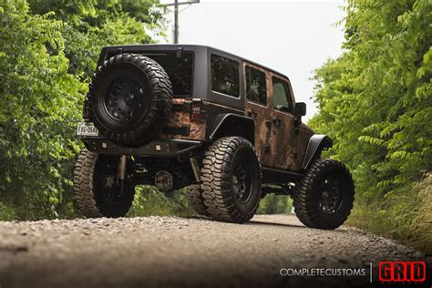 matte gold jeep grid road vehicle