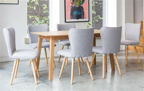 6 Seater Dining Sets Grey Home Furniture Out Out Grey Dining Set 6 Seats Home Furniture Out Out Original