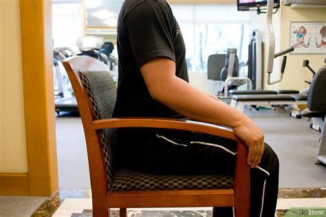 deine bauchmuskeln im sitzen trainieren wikihow