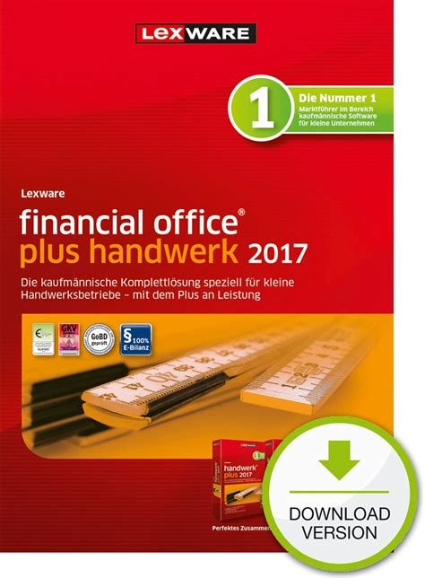 Musterbriefe Handwerk Lexware Financial Office Plus Handwerk 2017 Zum