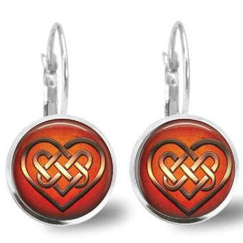 Redknot Manacle Brown Irland shop celtic knot jewelry on wanelo