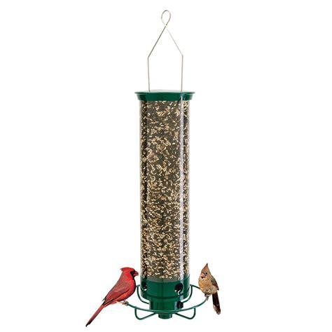droll yankees inc yf flipper 4 port hanging bird feeder
