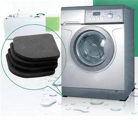 How To Wash Mat In Washing Machine by 4pcs Set Mat For Washing Machine Shock Pads Non Slip Mats
