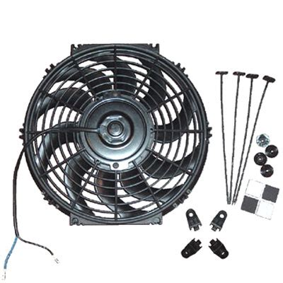 electric fan pipe radiator cooling fan