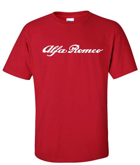 Alfa Romeo Shirt by Alfa Romeo Automotive Logo Graphic T Shirt Supergraphictees
