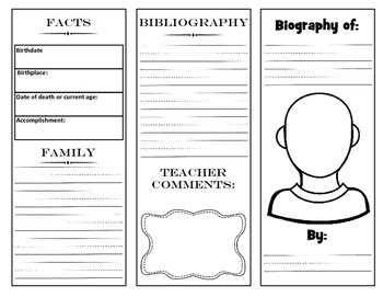 biography graphic organizer pinterest biography graphic organizers and pinterest pictures to pin