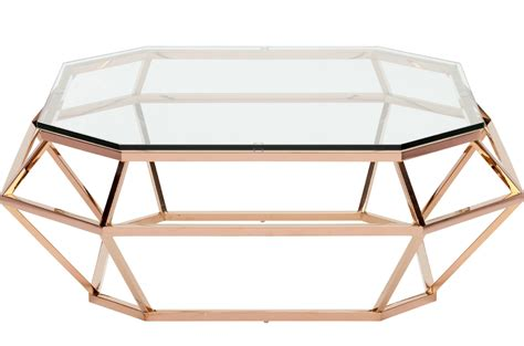 Nuevo Square Coffee Table Stainless Steel Or Rose