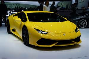Who Makes Lamborghini Lamborghini Makes Its Huracan Lp610 4 Official In Geneva