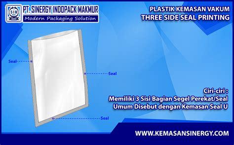 Plastik Vakum kemasan plastik vakum vacuum bag three side seal