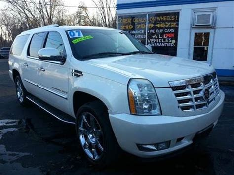 Cadillac Escalade For Sale In Michigan by Cadillac Escalade Esv For Sale Carsforsale