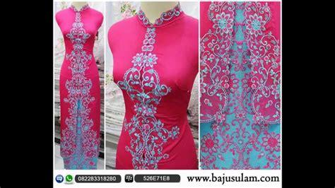 desain exclusive grosir kebaya online 082283318280 jual kebaya pesta modern youtube